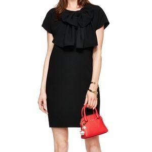 Kate Spade Mini Black Bow Dress